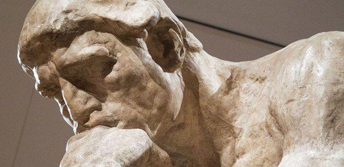 Ωγκύστ Ροντέν «Ο Σκεπτόμενος» (Auguste Rodin)