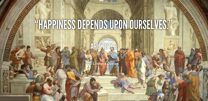 Η Ευτυχία κατά τον Αριστοτέλη